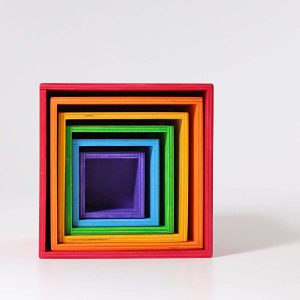 Grimms Rainbow Toys - Nested Boxes