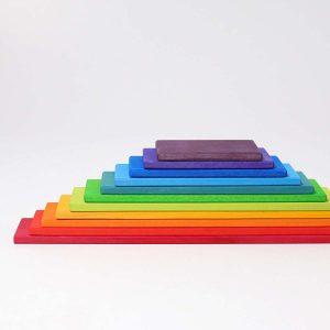 Grimms Rainbow Toys - Rainbow Building Boards