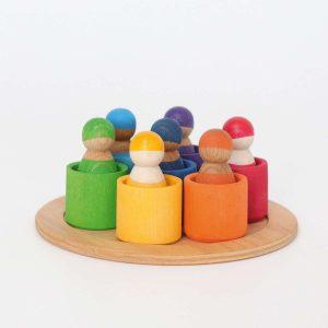 Grimms Rainbow Toys - Rainbow friends
