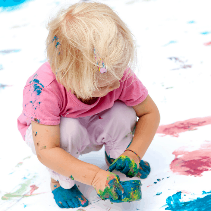 Non-Toxic Finger Paint for every home